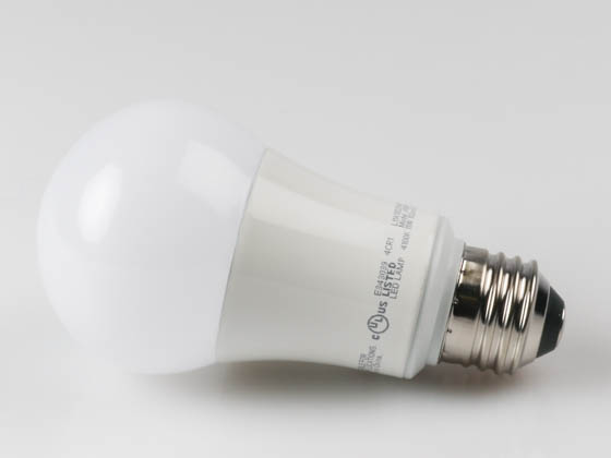 TCP L11A19D2541K Dimmable 11W 4100K A19 LED Bulb, Enclosed Rated