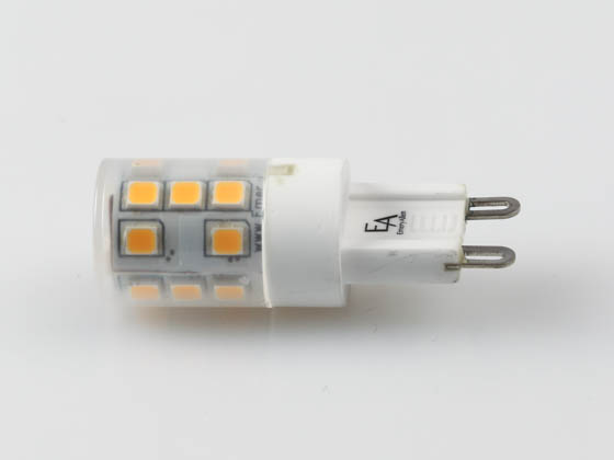 EmeryAllen EA-G9-3.0W-001-279F-D Dimmable 3W 120V 2700K T3 LED Bulb, G9 Base, Enclosed Fixture Rated