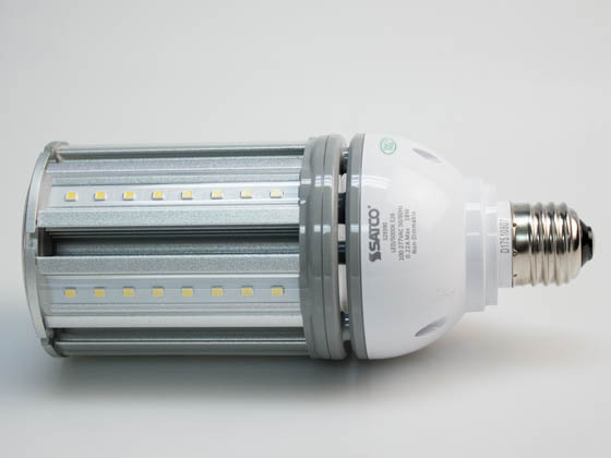 Satco Products, Inc. S29390 18W/LED/HID/5000K/100-277V/E26 Satco Non-Dimmable 18 Watt Hi-Pro LED Multi-Beam Retrofit Lamp, 5000K, Ballast Bypass