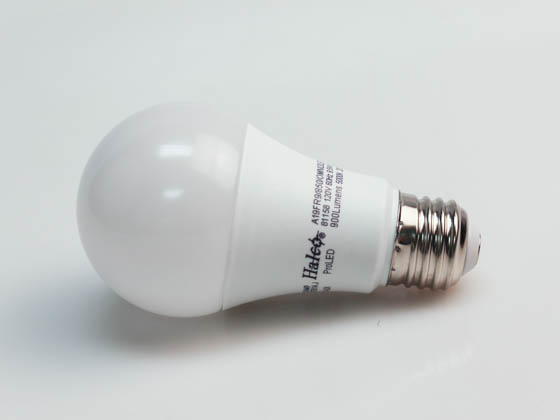 Halco Lighting 81158 A19FR9/850/OMNI2/LED Halco Dimmable 9.5W 5000K A-19 LED Bulb, Enclosed Rated