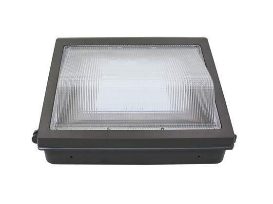 GlobaLux Lighting LWP-80-MV-850 GlobaLux 300 Watt Equivalent, 80 Watt Forward Throw LED Wallpack Fixture, 5000K