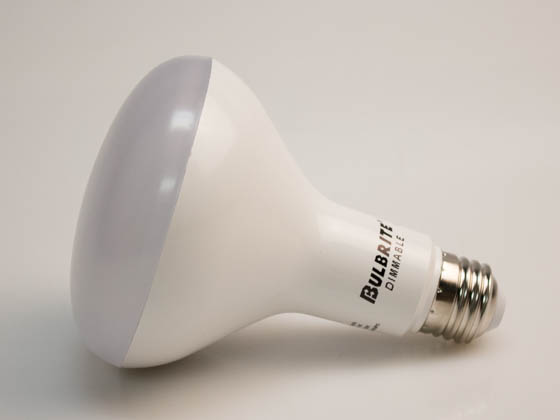 Bulbrite 772834 LED12BR30/830/D/3 Dimmable 12W 3000K BR30 LED Bulb, Enclosed Rated