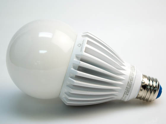 Green Creative 97974 25HID/850/277V/E26 Non-Dimmable 25W 120-277V 5000K A-23 LED Bulb, Enclosed Rated, E26 Base
