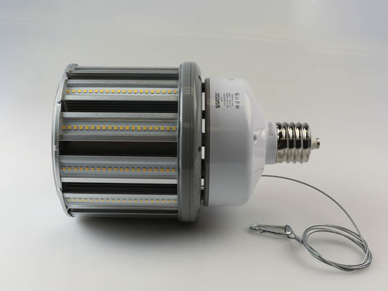 Satco Products, Inc. S29676 100W/LED/HID/4000K/100-277V/EX39 Satco 100 Watt 4000K LED Post Top Retrofit Lamp, Ballast Bypass
