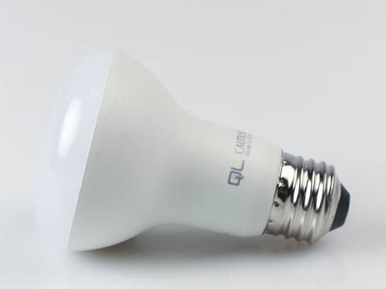 QLS LR20D5050E Dimmable 7 Watt 5000K R20 LED Bulb, Enclosed Rated