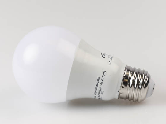 Satco Non-Dimmable 8.5 Watt, 120-277 Volt 4000K A-19 LED Bulb ...