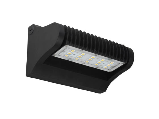 PacLights FWPR060-50 175 Watt Equivalent, 60 Watt Adjustable Full Cutoff LED Wall Pack, 5000K