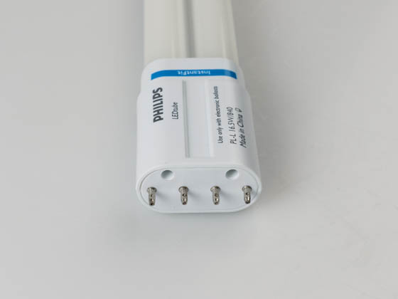 Philips Lighting 532911 16.5PL-L/PER/22/840/IF22/P 4P Philips Non-Dimmable 16.5W 4000K 4 Pin Single Twin Tube PLL LED Bulb