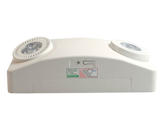 Exitronix NFT-HO-W-G2 NFINITY Very High Output LED Emergency Light with Battery Backup