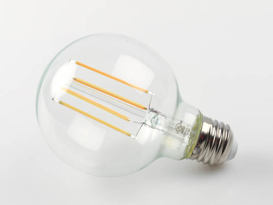 Bulbrite 776775 LED8G25/27K/FIL/3 Dimmable 8.5W 2700K 90 CRI G25 Filament LED Bulb, Enclosed and Wet Rated