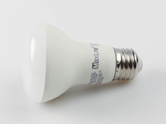 MaxLite 102586 6R20DV50 Maxlite Dimmable 6 Watt 5000K R20 LED Bulb, Enclosed Fixture Rated