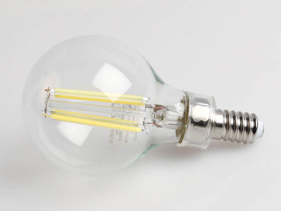 TCP FG16D4050EE12C Dimmable 4W 5000K G-16 Filament LED Bulb, Enclosed Rated