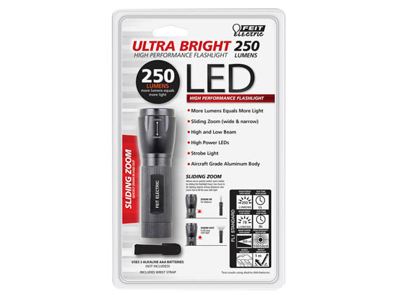 Feit Electric 72331 250 Lumen LED Flashlight Feit 250 Lumen LED Flashlight