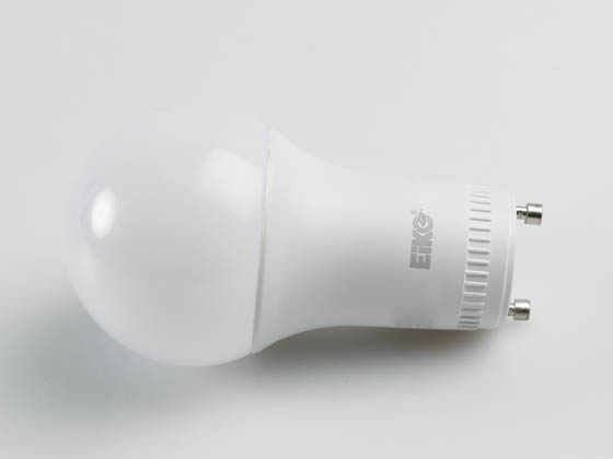 Eiko 10591 LED11WA19/OMN/830-GU24-DIM-A Dimmable 11W 3000K A19 LED Bulb, GU24 Base, Enclosed Rated