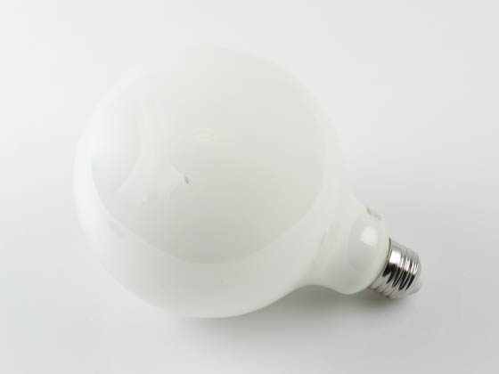Bulbrite 776897 LED8G40/27K/FIL/M/3 Dimmable 8.5W 2700K 90 CRI Filament G40 LED Bulb, Enclosed Fixture and Outdoor Rated