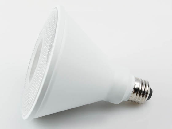TCP L100P38N25UNV30KFL Non-Dimmable 12.5W 120-277V 3000K 40° PAR38 LED Bulb, Wet and Enclosed Fixture Rated