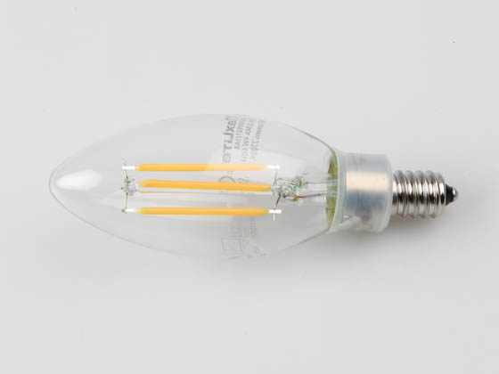 MaxLite 103409 EF4B10D927/JA8 Maxlite Dimmable 4W 2700K Decorative Filament LED Bulb, JA8 Compliant, Enclosed Fixture Rated
