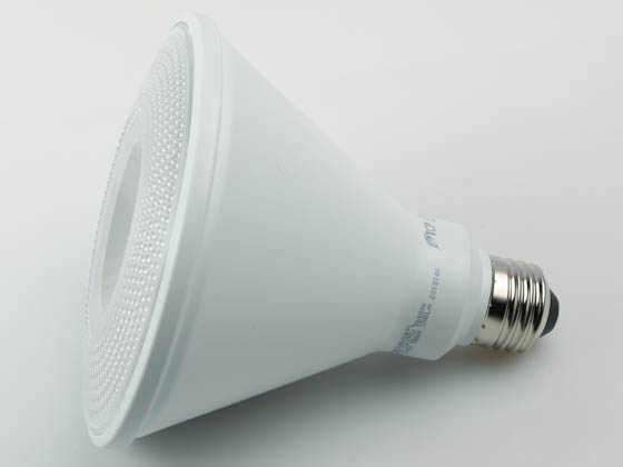 TCP L100P38N25UNV50KFL Non-Dimmable 12.5W 120-277V 5000K 40° PAR38 LED Bulb, Wet and Enclosed Fixture Rated