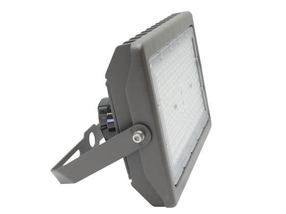 MaxLite 104198 MSF90UW-CSBYRPC Maxlite 250 Watt HID Equivalent, 90 Watt Color Selectable (3000K/4000K/5000K) Slim LED Flood Light Fixture With Yoke Mount and Photocell