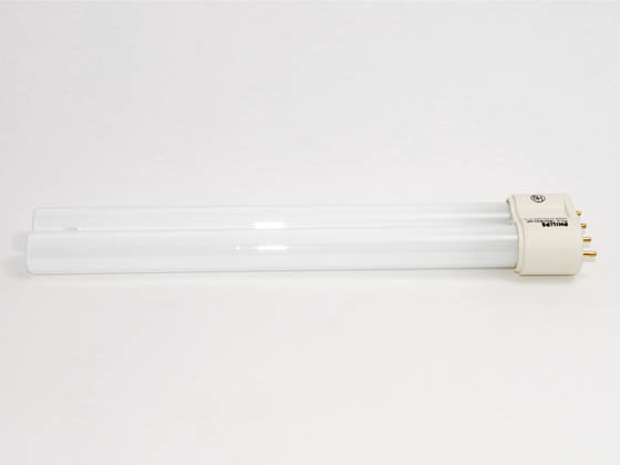 Philips Lighting 345009 PL-L 18W/30  (4-Pin) Philips 18W 4 Pin 2G11 Soft White Long Single Twin Tube CFL Bulb