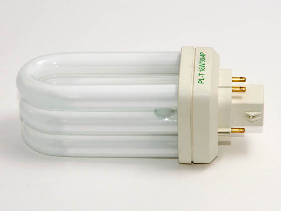 Philips Lighting 268029 PL-T 18W/30/4P/ALTO  (4-Pin) Philips 18 Watt, 4-Pin Warm White Triple Twin Tube CFL Bulb