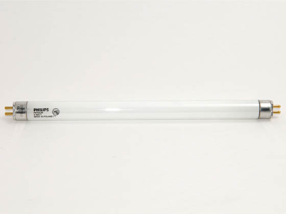 Philips Lighting 332411 F6T5/CW Philips 6W 9in T5 Cool White Fluorescent Tube