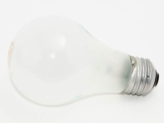 Philips 100 Watt 130 Volt A19 Frosted Long Life Bulb