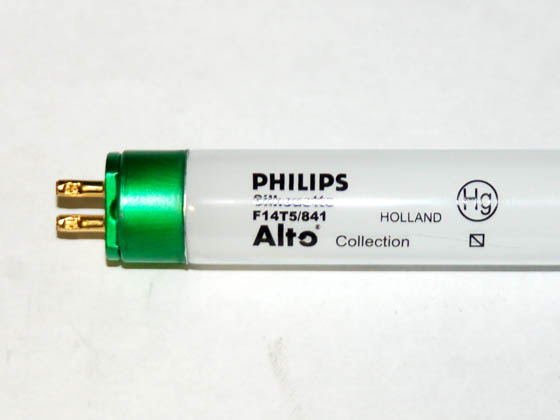 Philips Lighting 230805 F14T5/841/ALTO Philips 14W 22in T5 Cool White Fluorescent Tube