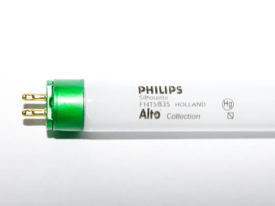 Philips Lighting 230797 F14T5/835/ALTO Philips 14W 22in T5 Neutral White Fluorescent Tube