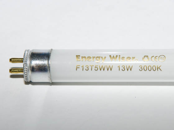Bulbrite 501013 F13T5WW 13W 21in T5 Warm White Fluorescent Tube