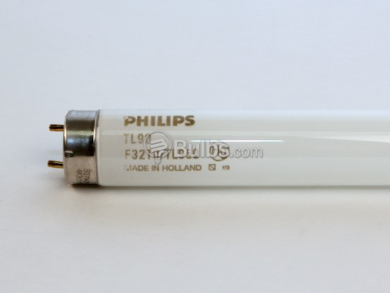Philips Lighting 209056 F32T8/TL950 32W Philips 32W 48in T8 Bright White Fluorescent Tube