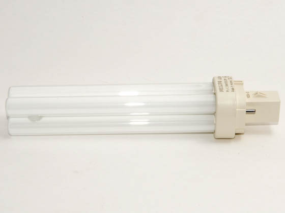 Philips Lighting 383232 PL-C 26W/835/ALTO  (2-Pin) Philips 26W 2 Pin G24d3 Neutral White Double Twin Tube CFL Bulb