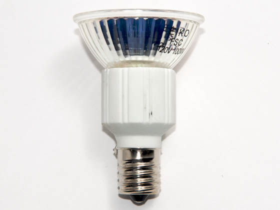 Eiko W-FSC FSC (120V, 2000 Hrs) 100 Watt, 120 Volt MR16 Halogen Narrow Spot FSC Bulb