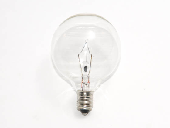 Bulbrite B461240 KR40G16CL 40W Clear Krypton G16 Decorative Bulb, E12 Base