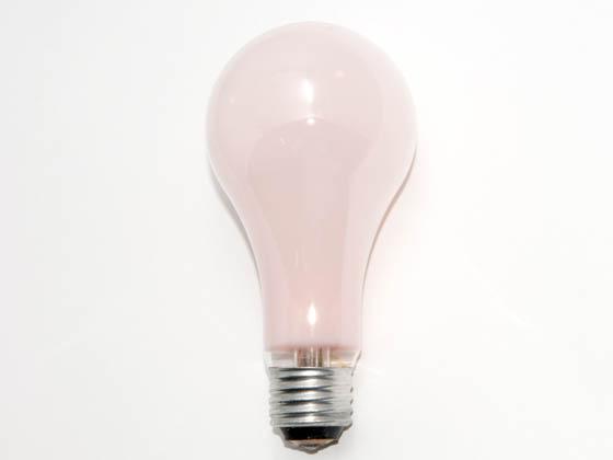 Philips 50 150 Watt 130 Volt A21 Pink 3 Way Bulb 50