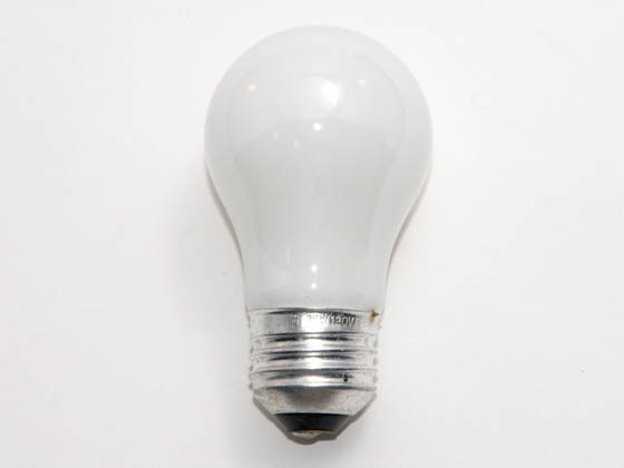 Philips Lighting 168609 15A/WL  (120V) Philips 15W 120V A15 Soft White Long Life Appliance Bulb, E26 Base