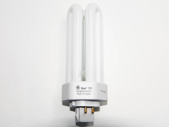 GE 97614 F26TBX/SPX27/A/4 26W 4 Pin GX24q3 Warm White Triple Twin Tube CFL Bulb