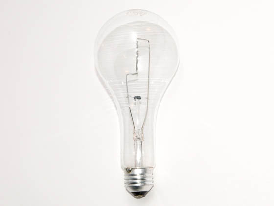 Philips Lighting 133918 300M  (120-130V) Philips 300W 120V to 130V PS25 Clear E26 Base