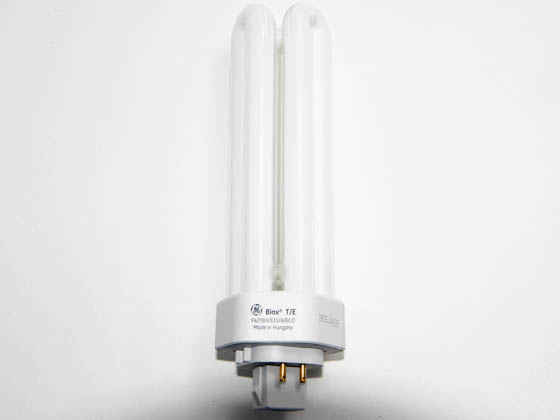 GE GE46314 F42TBX/835/A/4P/EOL (4-Pin) 42 Watt, 4-Pin Neutral White Triple Twin Tube CFL Bulb