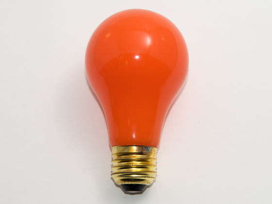 Bulbrite B106540 40A/CO 40W 120V A19 Ceramic Orange E26 Base