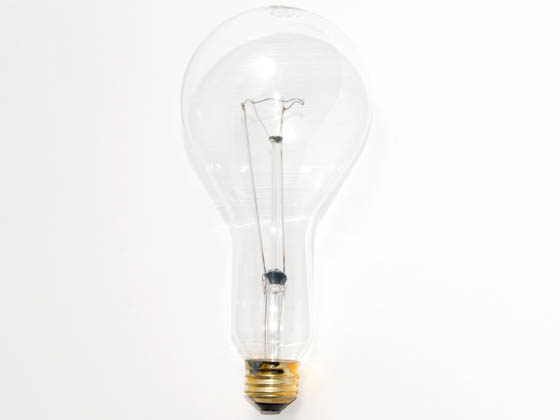 Sylvania SYL15725 200PS/CL/99/XL  (130V) 200W 130V PS30 Clear Long Life Bulb, E26 Base