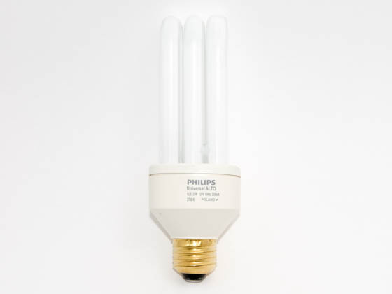 Philips Lighting 135749 SLS 25  UNIVERSAL Philips 25W Warm White Triple Twin Tube CFL Bulb, E26 Base