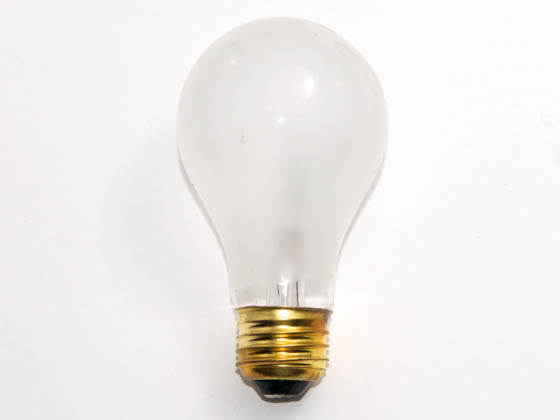 Advanced Lamp Coatings 40A19/FR (Safety) 40 Watt, 130 Volt A19 Safety Coated Bulb