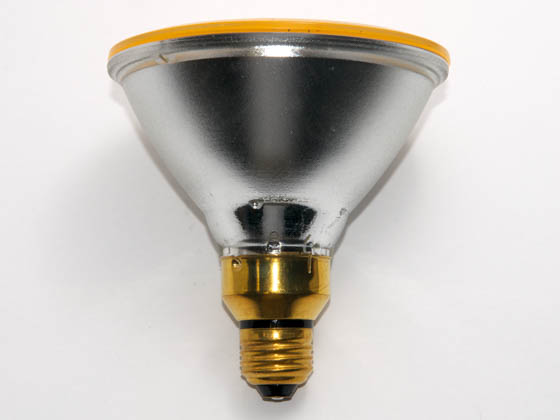 Bulbrite B683908 H90PAR38Y (Yellow) 90W 120V PAR38 Halogen Yellow Bulb