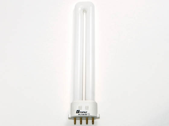 CXL PL13/E/30K-33 PL13/4P/30K (4 pin) 13 Watt 4-Pin Soft White Single Twin Tube CFL Bulb