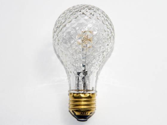 Bulbrite 50 Watt 120 Volt Clear Faceted Mb 19 Halogen