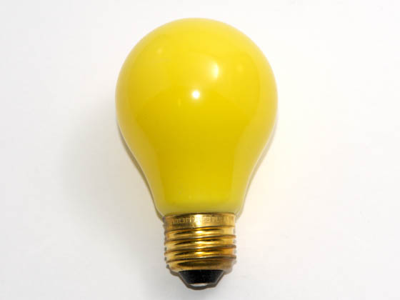 Philips Lighting 141580 25A/Y (DISCONTINUED) Philips 25 Watt, 120 Volt A19 Yellow Bulb