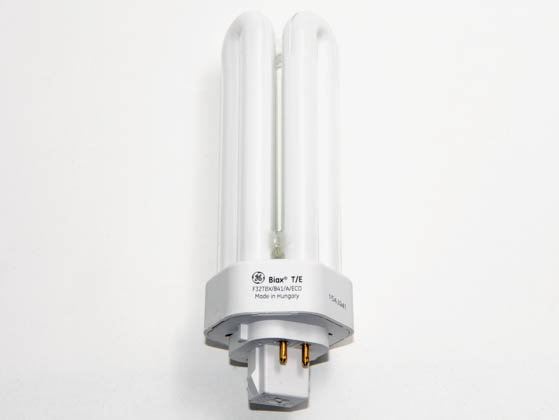 GE GE97632 F32TBX/841/A/ECO (4-Pin) 32W 4 Pin GX24q3 Cool White Triple Twin Tube CFL Bulb