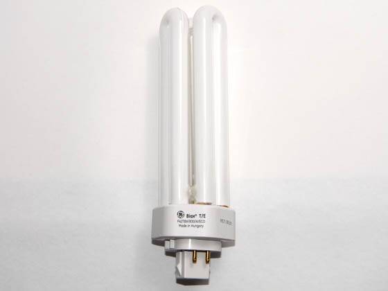 GE GE46313 F42TBX/830/A/4P/EOL (4-Pin) 42W 4 Pin GX24q4 Soft White Triple Twin Tube CFL Bulb