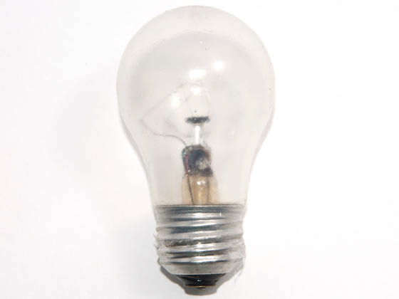 Glass Surface Systems GSI10002 40A15 (OVEN, Safety) 40 Watt, 120 Volt A15 Clear Oven/Appliance Bulb